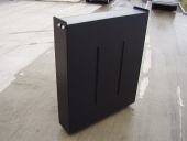 Vehicle water tank 1800mm x 1500mm x 360mm in 12mm thick black embossed polypropylene