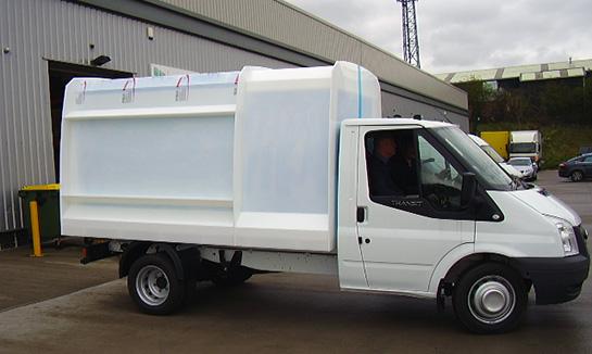 Garden waste truck